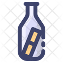 Message Bottle Bottle Sea Icon