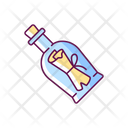 Message Bottle Icon