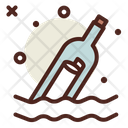 Message Bottle Letter Bottle Bottle Icon
