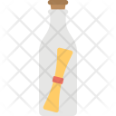 Message Bottle Cork Icon