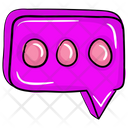 Message Bubble Speech Bubble Chat Icon