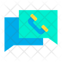 Message Call Phone Call Icon