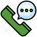 Message Call Chat Bubble Phone Call Icon