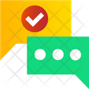 Message Deliver Sucessfully Icon
