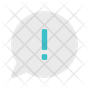 Message Chat Warning Icon