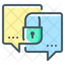 Message Encryption Chat Encryption Message Icon