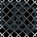 Message Encryption Message Lock Icon