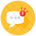 Message Alert Warning Message Message Error Icon