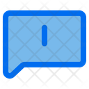 Message Error Message Warning Comment Icon