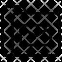 Message Folder Data Icon