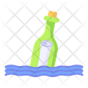 Message In A Bottle Piracy Pirate Icon