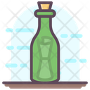 Message In Bottle Bottle Communication Bottle Letter Icon