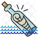 Message Bottle Icon