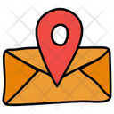 Message Location Mail Address Gps Icon