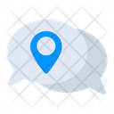 Message Location Message Address Chat Location Icon