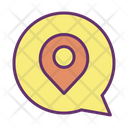 Mchat Map Location Message Location Online Location Icon