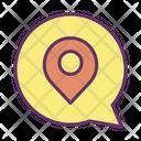 Message Location Icon