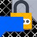 Message Lock Icon