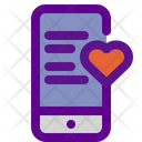 Message Mobile Love Message Love Chat Icon