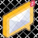 Message Notification Unread Messages Inbox Icon
