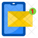 Message Notification Smartphone Mobilephone Icon