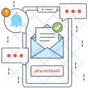 Message Notifications Icon
