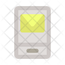 Message On Phone Message Communication Icon
