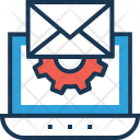 Email Web Settings Icon