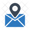 Message Location Pin Icon