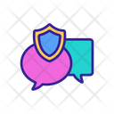 Message Protection Icon