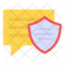 Message Security Message Protection Encrypted Message Icon