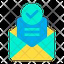 Message Sent Send Icon
