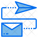 Sent Mail Transfer Icon