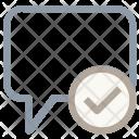 Message Sent Read Icon