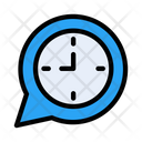 Message Time Notification Icon