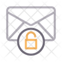 Unlock Email Message Icon