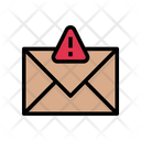 Email Threat Message Icon