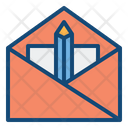 Message Writing Mail Writing Email Writing Icon