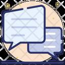 Messages Speech Bubbles Communication Icon