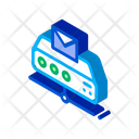 Digital Message Technology Icon