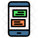Text App Android Icon