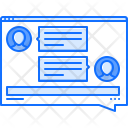 Messenger application Icon