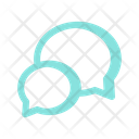 Messenger Chat Bubble Icon