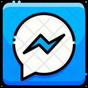 Messenger Facebook Messanger Logo Brand Logo Icon
