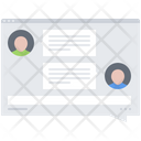 Messenger Interface Icon