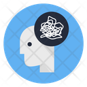 Messy Mind Icon
