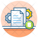 Meta Data File Configuration File Setting Icon