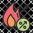 Calories Burn Metabolism Icon