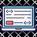 Metadata Data Organize Data Structure Icon