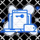 Keyword Advertising Seo Metadata Icon